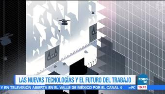 Nuevas Tecnologías Futuro Trabajo Mundo