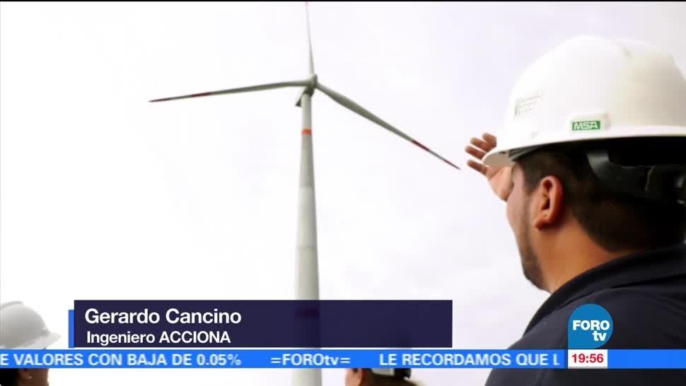 Inversión en energía eólica en México