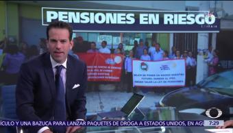 Burócratas de Sinaloa se quedan sin pensiones