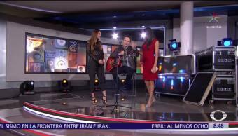 Fonseca canta en Al Aire con Paola