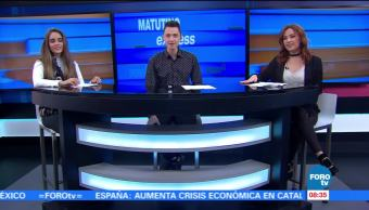 Matutino Express del 15 de noviembre con Esteban Arce (Bloque 1)