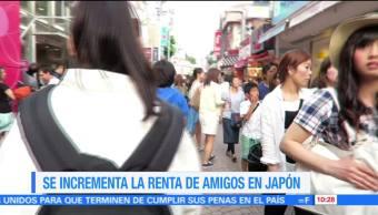Extra, Extra: Se incrementa la renta de amigos en Japón