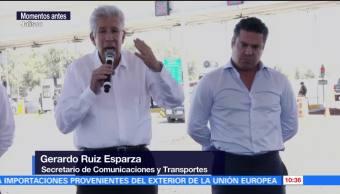 Ruiz Esparza encabeza inicio de operaciones en el macrolibramiento de Guadalajara