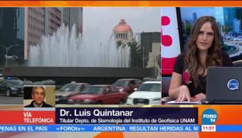 Se registran sismos al sur de la Ciudad de México
