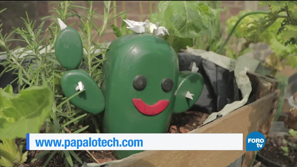 Papalotech. Un dispositivo para monitorear crecimiento de plantas