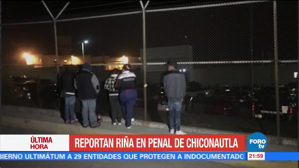 Reportan riña en penal de Chiconautla