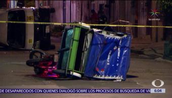 Muere mototaxista en accidente de tránsito en el Edomex