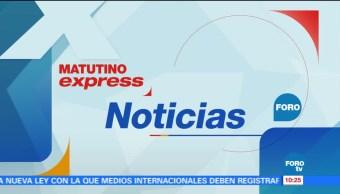 Matutino Express del 16 de noviembre con Esteban Arce (Bloque 2)