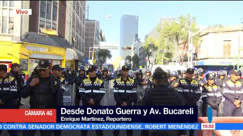 Día de caos por manifestaciones en la zona centro de la CDMX
