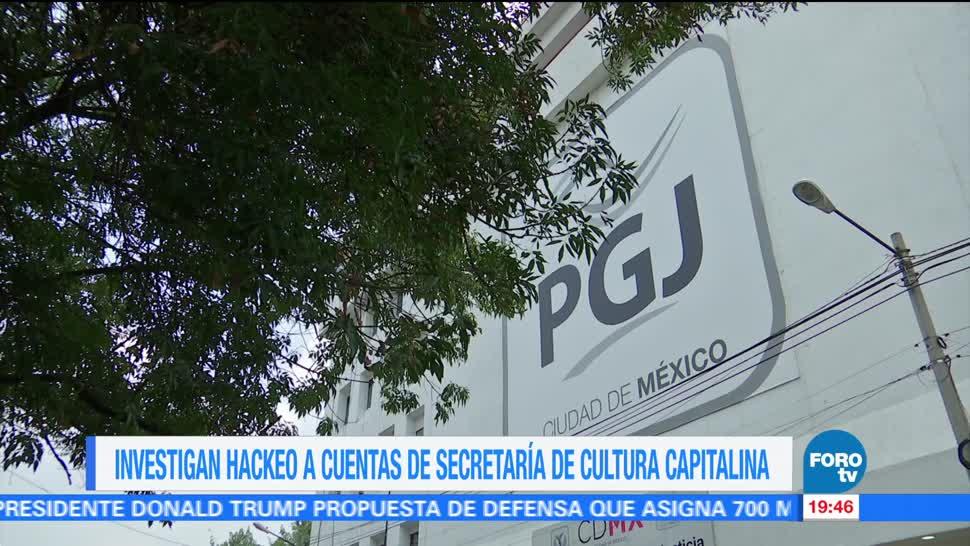 PGJCDMX investiga hackeo a cuentas de la Secretaría de Cultura capitalina