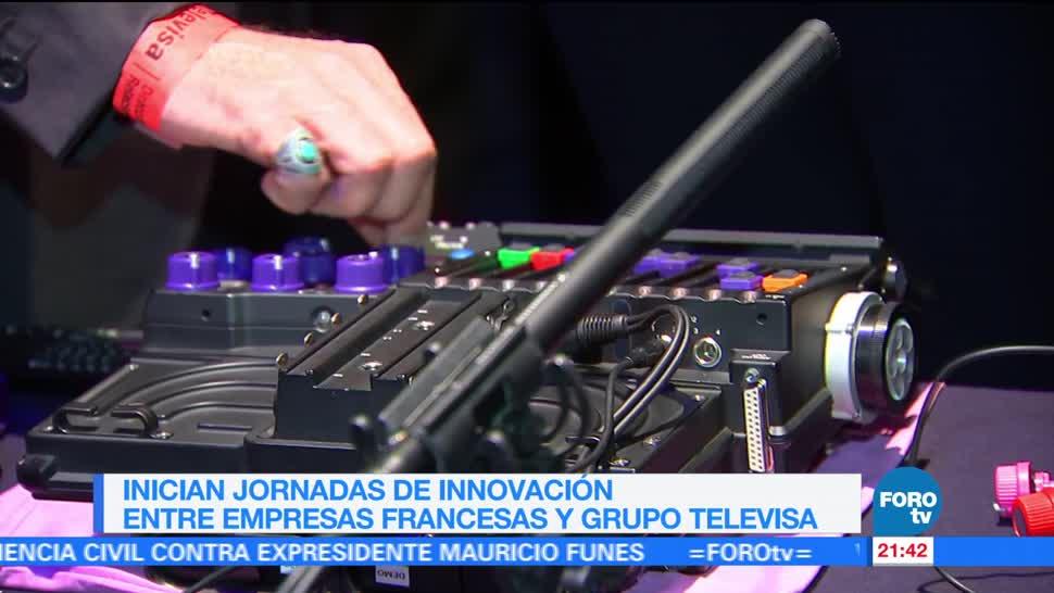 Inician jornadas de innovación entre empresas francesas y Grupo Televisa