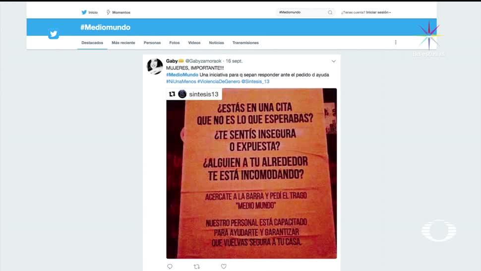 Bar de Tijuana crea bebida como 'botón de pánico' para mujeres