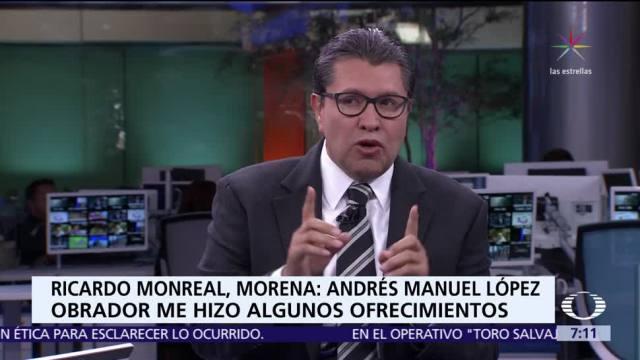 Ricardo Monreal habla de su futuro político en Despierta con Loret