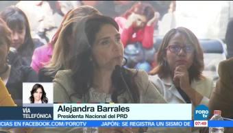 Próxima semana inicia el proceso de selección del candidato: Barrales