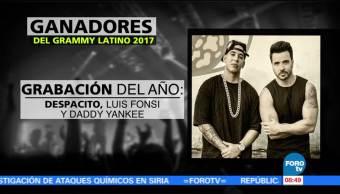 'Despacito' encabeza la lista de ganadores del Grammy Latino 2017