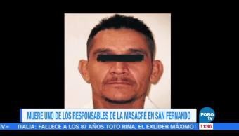 Muere uno de los responsables de la masacre en San Fernando