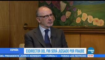 Rodrigo Rato, exdirector del FMI, será enjuiciado por salida de Bankia