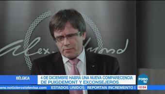 Fiscalía belga pide ejecutar euroorden contra Puigdemont