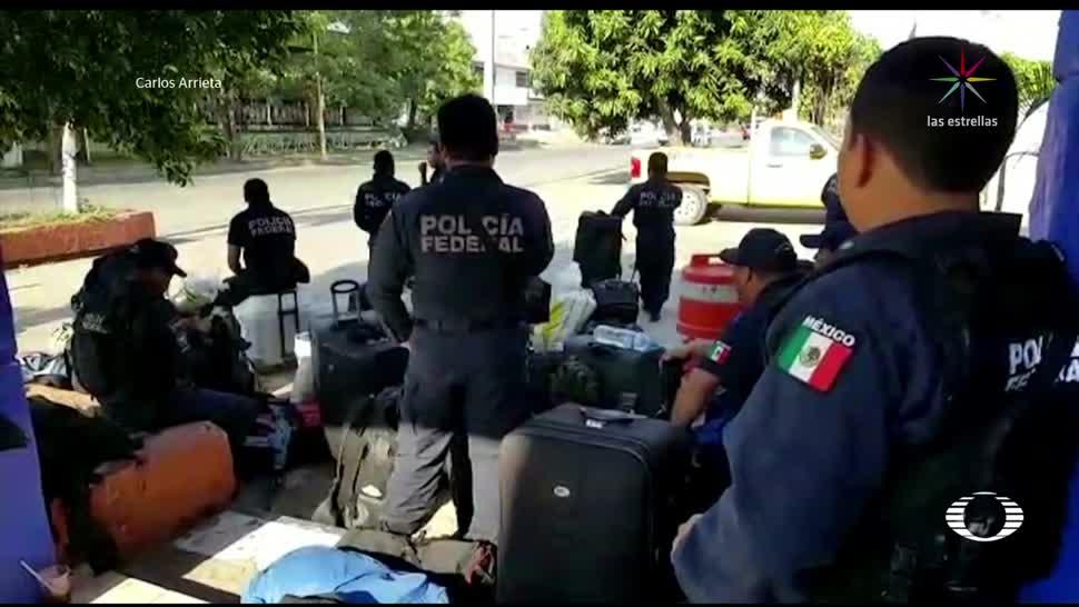 Hotel desaloja a policías federales por adeudos