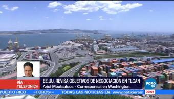 Eu Revisa Objetivos Negociación Tlcan Washington Ariel Moutsatsos