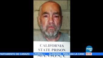 Muere Charles Manson, el asesino serial creador de la secta 'La Familia Manson'