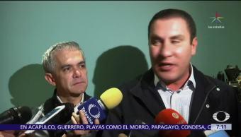 Se reúnen Margarita Zavala, Miguel Ángel Mancera y Rafael Moreno Valle