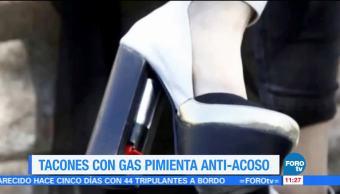 Extra Extra: Tacones con gas pimienta anti acoso