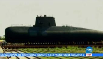 Armada argentina busca un submarino con 44 tripulantes
