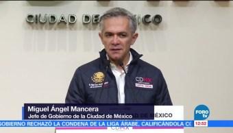 Mancera habla del encuentro con Margarita y Moreno Valle