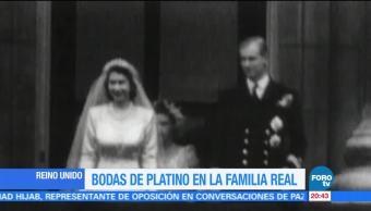 La reina Isabel cumple 70 años de matrimonio
