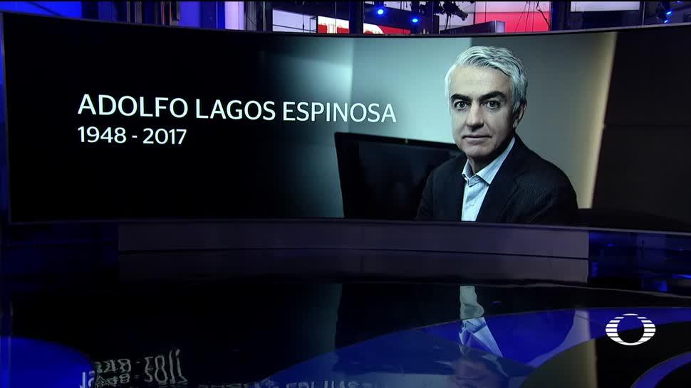Adolfo Lagos se integró a Televisa en 2013