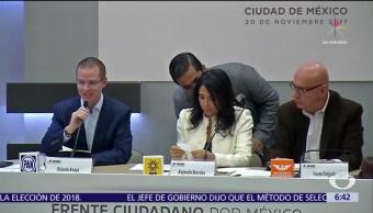 Frente Ciudadano promete ingreso mensual fijo en su proyecto de nación