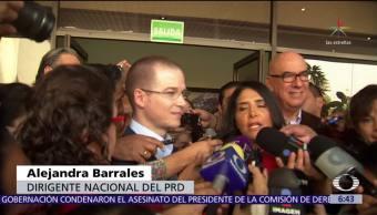 PRD y MC rechazan que vaya a haber dedazo en el Frente Ciudadano