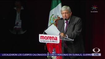 Congreso Nacional de Morena aprueba proyecto de nación 2018-2024