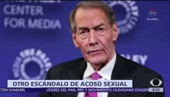 Charlie Rose y Glenn Thrush, sigue escándalo de acoso sexual en EU