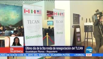 Temas más difíciles del TLCAN se abordarán en rondas intermedias