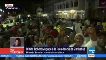 Mugabe, de gran líder a personaje impopular