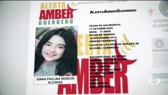 Encuentran cuerpo de niña desaparecida en Guerrero