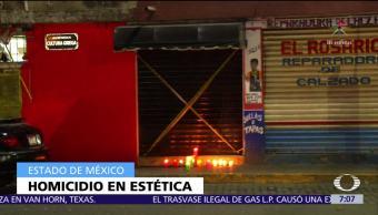 Asesinan a un hombre en una estética de Tlalnepantla, Edomex, mientras trabajaba