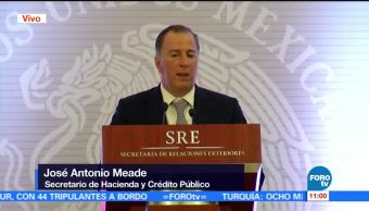 Meade habla del panorama económico