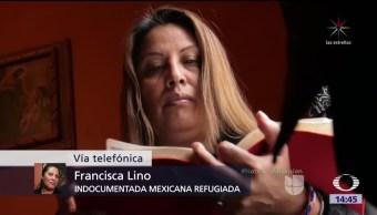 Francisca Lino, símbolo de migrantes en EU