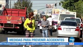 Medidas para prevenir accidentes de tránsito en la CDMX