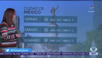 Clima Al Aire: Prevén temperaturas de menos de cero grados en Edomex