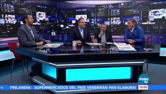 Carlos Reinoso visita Matutino Express