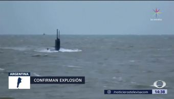 Crece la preocupación por ocupantes de submarino argentino