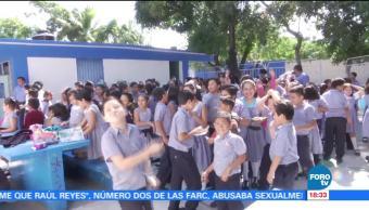 Colocan alertas sísmicas en escuelas de Chiapas