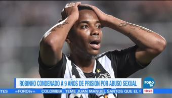 Condenan a 9 años de prisión al futbolista Robinho