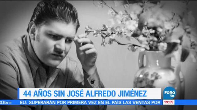 Efeméride En Una Hora: José Alfredo Jiménez