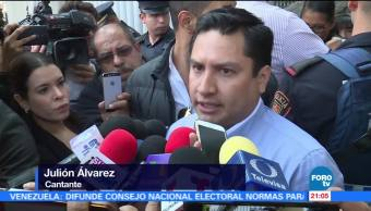 Julión Álvarez acude a la SEIDO