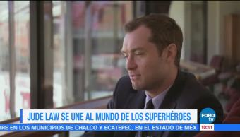 Jude Law se une al mundo de los superhéroes